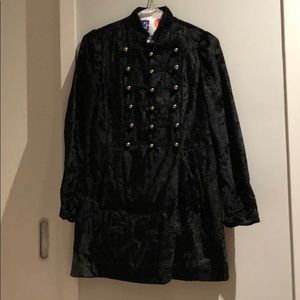 Marc Jacobs Victorian military velvet jacket